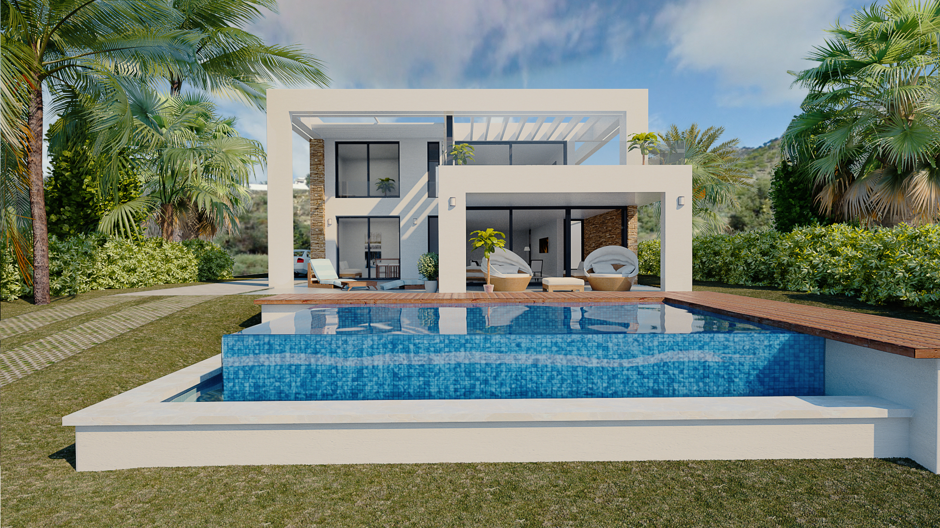 Boutique Modern Villas in Mijas